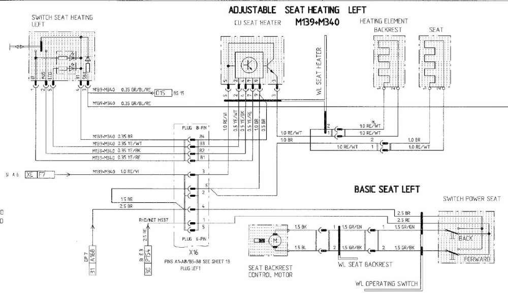 medium resolution of heated seat wiring diagram porsche wiring diagramsheated seat retrofit wiring help sought 996 series carrera