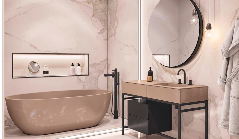 50 designs de salle de bain inspirants