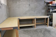 DIY Garage Workbench