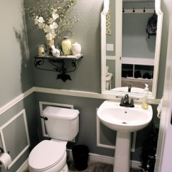 Picture Frame Moulding Below Chair Rail Club Leather Molding Ideas For The Bathroom Renocompare