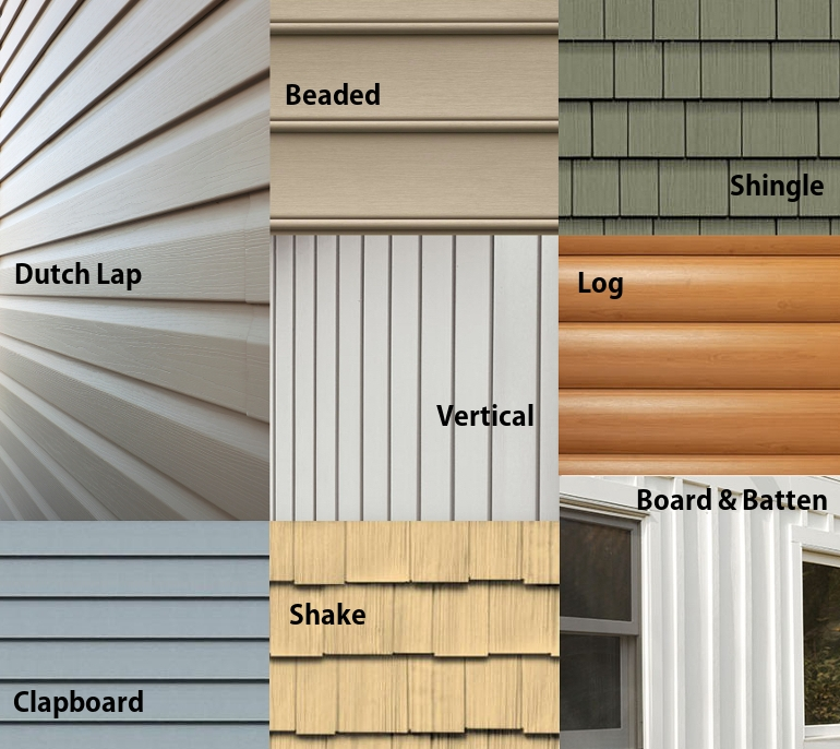chair rail pros and cons macys dining chairs types of vinyl siding options vs other composite