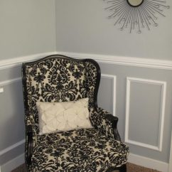 Traditional Wingback Chair Desk Malaysia Master Bedroom Rail Molding: Diy Installation   Renocompare