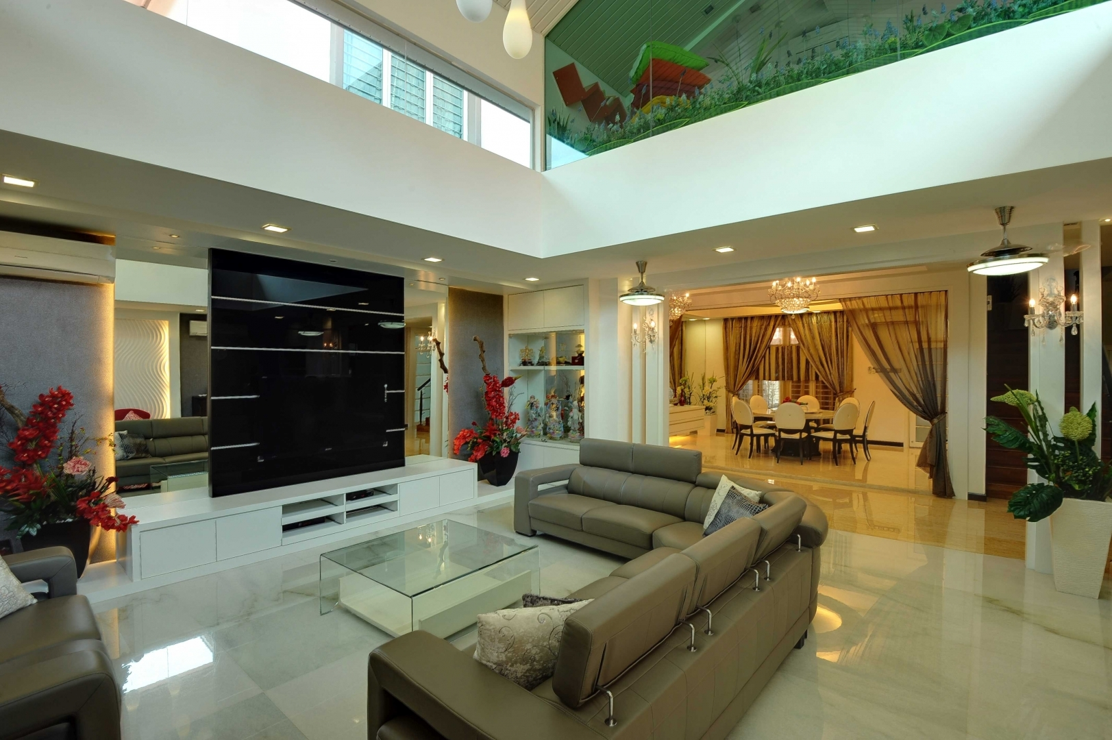 Modern Contemporary Interior  Setia Eco Park  Bungalow Interior Design  RENOF  Gallery