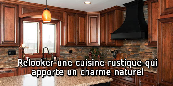 relooking cuisine rustique best comment repeindre une cuisine laque les tapes pas pas pour le. Black Bedroom Furniture Sets. Home Design Ideas