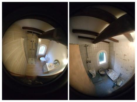 salle de bain bleue 3 avant après 2,5m² renov-bat-provence.fr