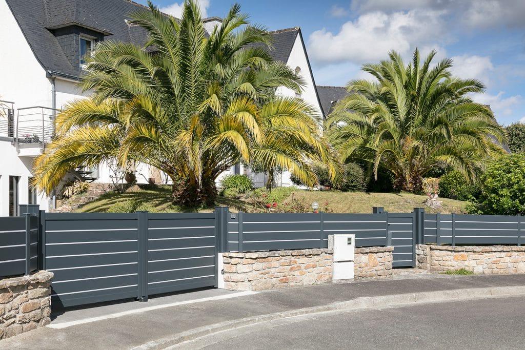 Clture jardin bois pvc ou alu pas chre  Renovart