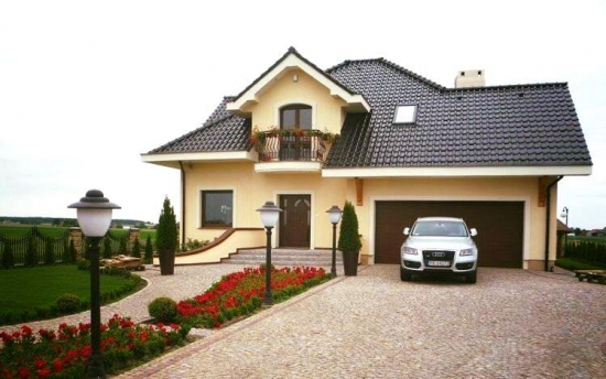 Proiect de casa cu scara interioara economica