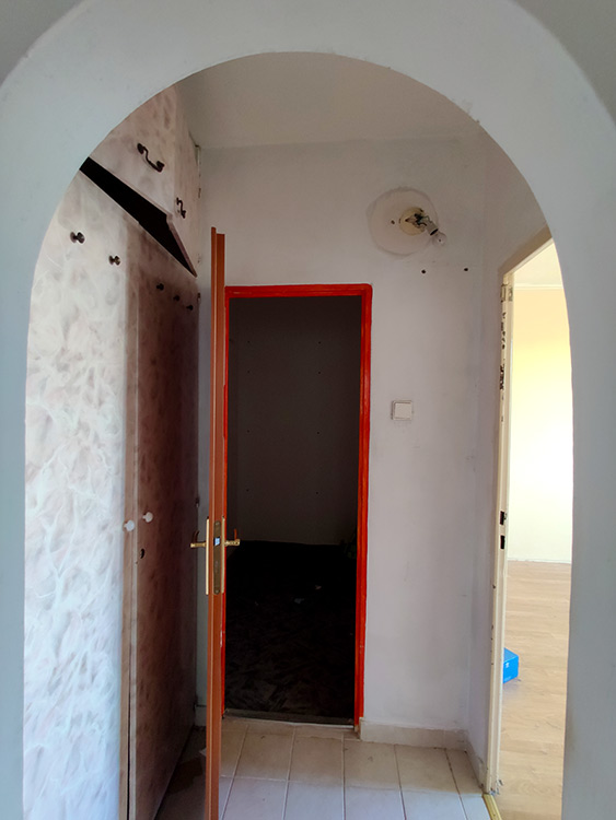 Rekonštrukcia bytu Hodalova RENOVATE