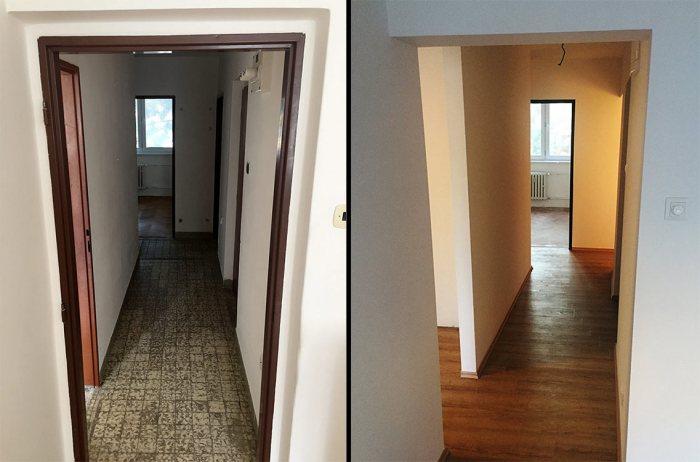 Renovate rekonstrukcia bytu hradistna