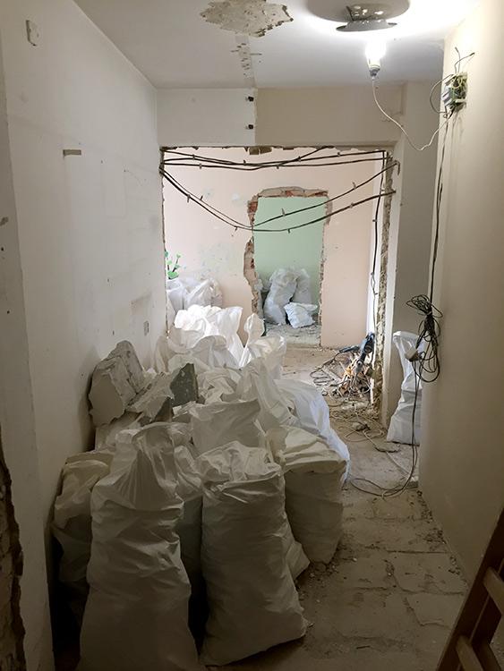 Rekonštrukcia bytu Belehradská - RENOVATE