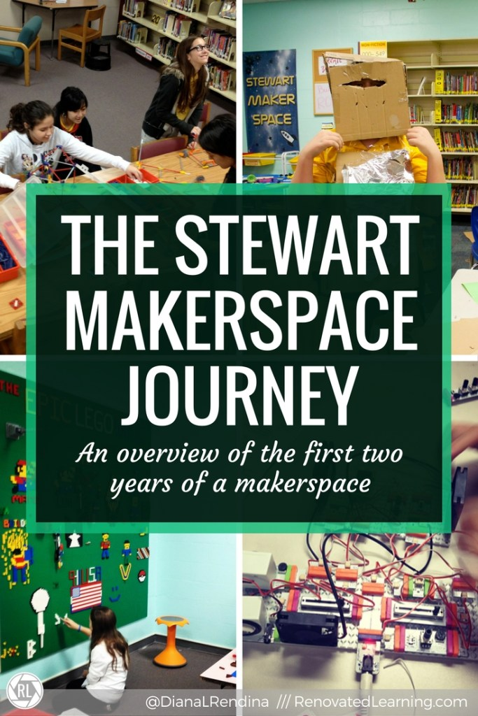The Stewart Makerspace Journey | The story of the first two years of creating a makerspace in a middle school.