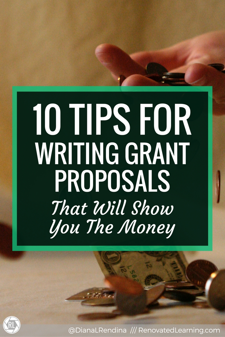 10 Tips for Writing Grant Proposals That Will Show You the Money - I've raised over $10,000 in grants for my school library. I've also read and evaluate grant applications before. Here's my top tips for writing grant proposals that will get you the money you need.