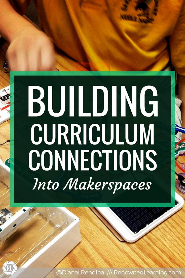 Building Curriculum Connections into Makerspaces | In my article for the Florida Media Quarterly, I describe how I've incorporated curriculum connections into my makerspace program.