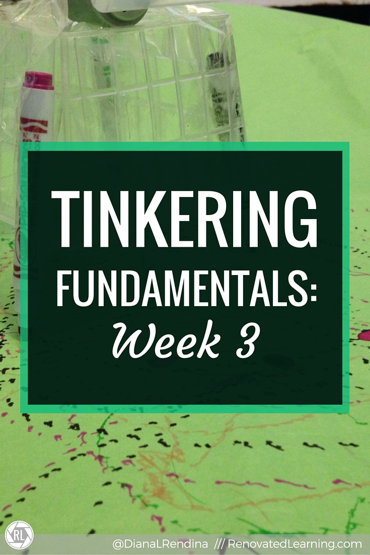 Tinkering Fundamentals: Week 3 | In my third week in the Tinkering Fundamentals MOOC, I share my first ever art-bot. Plus, my thoughts on the week's readings and Google Hangout.