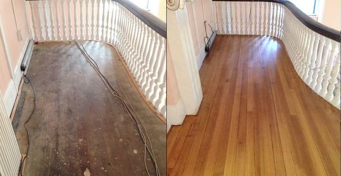 The Cost To Refinish Hardwood Floors 7 Things You Need To Know | Cost To Refinish Handrail | Hardwood Stairs | Wrought Iron | Interior | Stair Treads | Refinishing Hardwood Floors