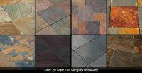 Slate Tile vs. Travertine vs. Porcelain: Flooring Tiles