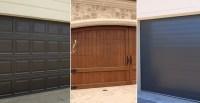 Staining Metal Garage Doors - Photos Wall and Door ...