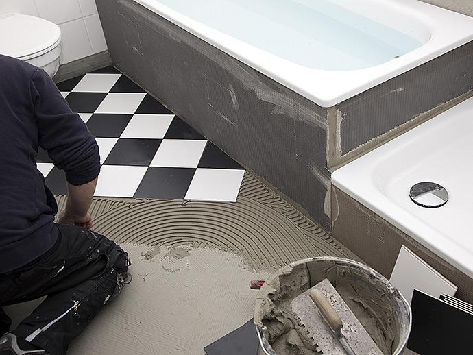 faience salle de bain angers