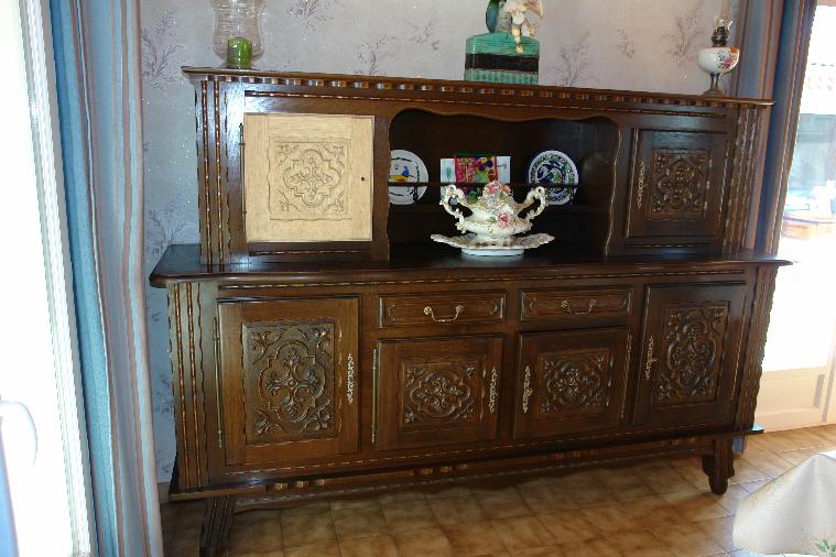 meuble de cuisine rustique