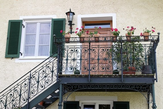 Un coup de neuf pour le balcon