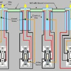 1 Way Switch Wiring Diagram Bep Panel 4 Light Diagrams Schematic How To Wire A