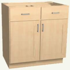 Base Kitchen Cabinets Childrens Play Sets Standard Stock Sizes Cabinet