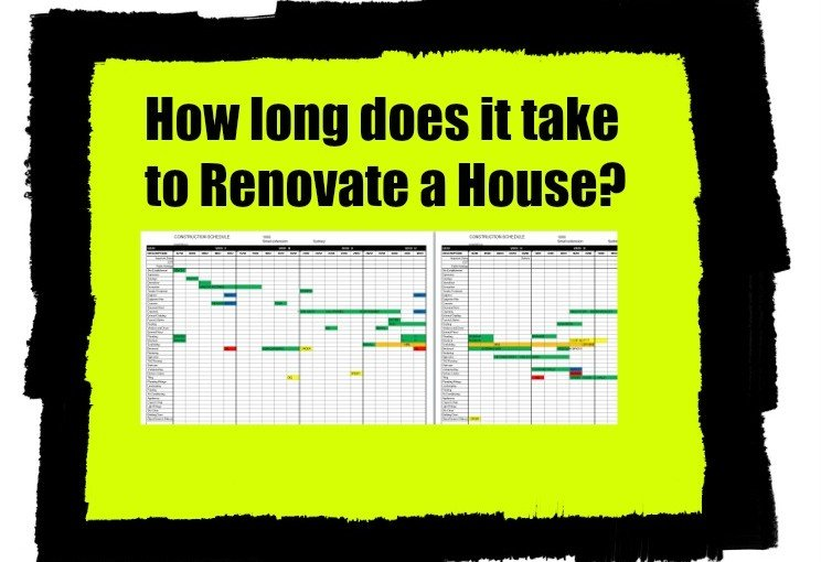 How Long Does it Take to Do a House Renovation  Home