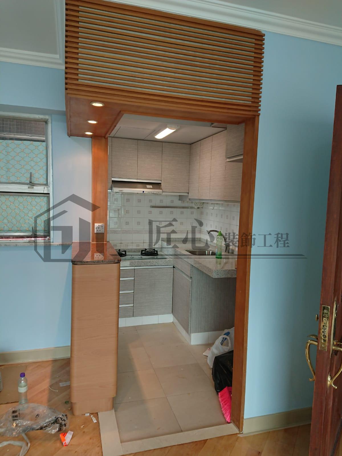土瓜灣單位 - 匠心裝飾工程 - 全屋裝修. 室內設計. 室內裝修. 家居翻新. 辦公司裝修