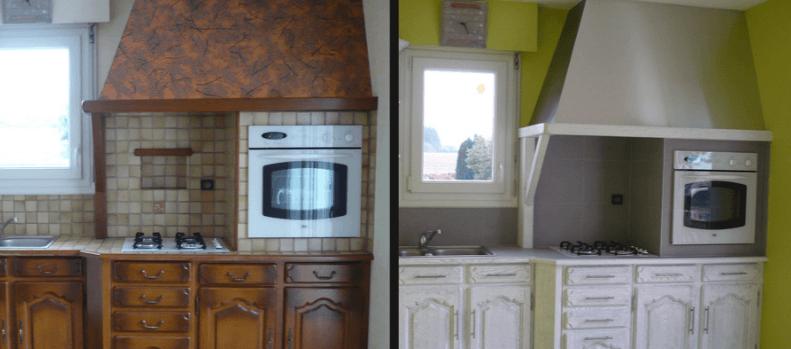 comment repeindre une cuisine en chene