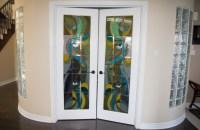 Interior door levers in Richmond Hill house.  Toronto ...