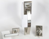 Tavaris Residential Single Lock Front Door handleset with ...