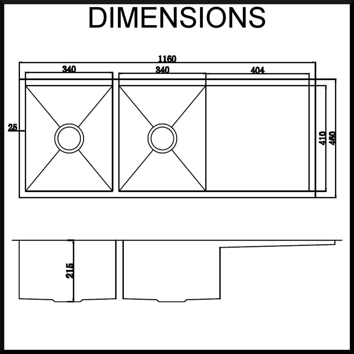 Good Standard Kitchen Sink Dimensions Part 13 Corners Under Top Mount For In Kitchen