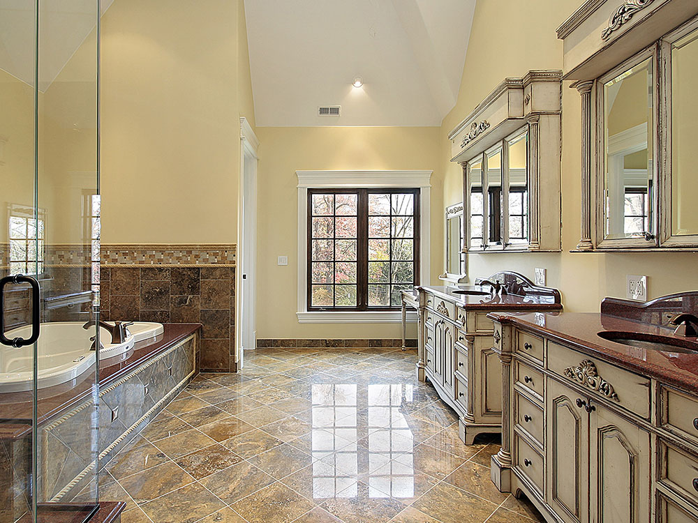 clever small kitchen design swinging door bathroom renovations montreal   renovco