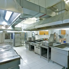 Residential Kitchen Hood Fire Suppression System Countertop Cost L'apport De L'architecte Cuisine Restaurant: Efficace