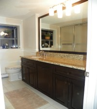 Bathroom Vanity Cabinet Re-facing | Renovisions Inc