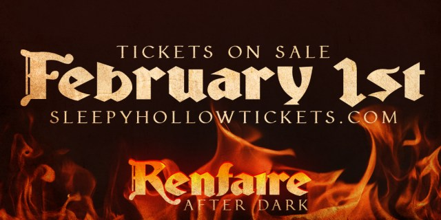 Renfaire After Dark 2018 tickets on sale February 1st.