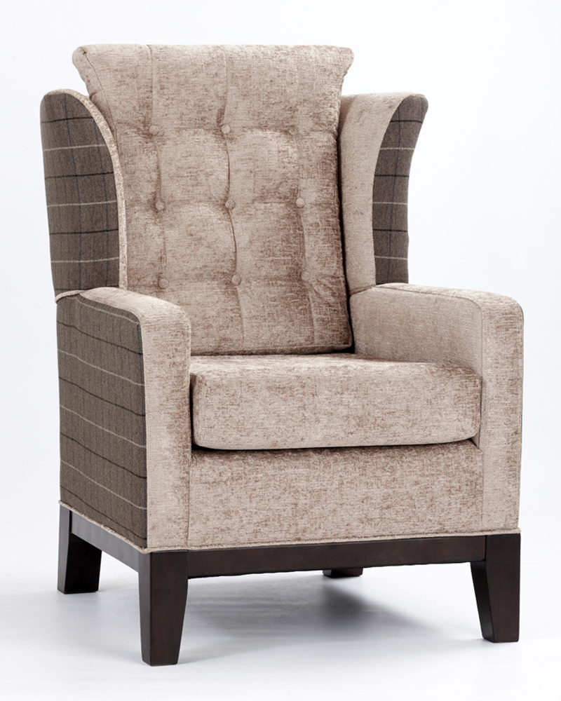 24 High Back Wing Chair Ideas You Should Consider  GMM