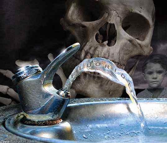 flúor, veneno en el agua