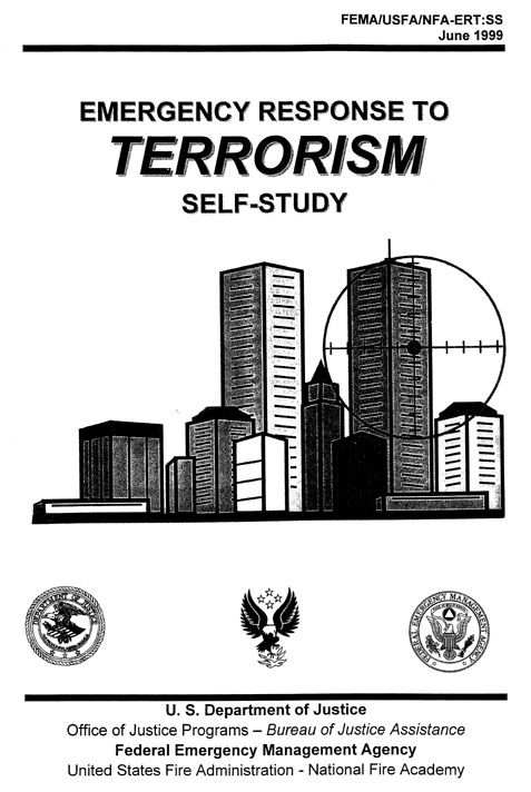 WCT Targeted On 1999 FEMA 'Terror' Book Cover
