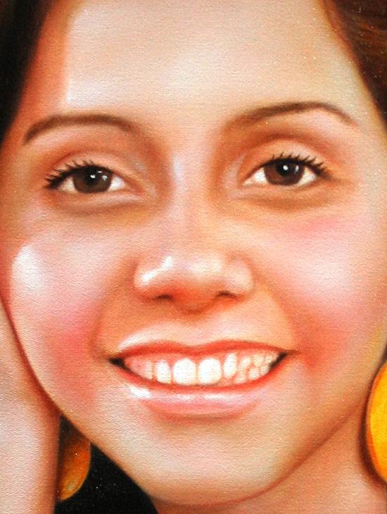 Pintando retrato paso a paso como pintar a oleo como
