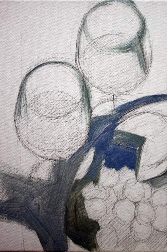 aprender a pintar un bodegon pintar objetos de vidrio
