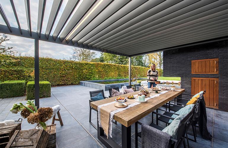 Renson Outdoor A Pioneer In Outdoor Living Concepts Renson Outdoor