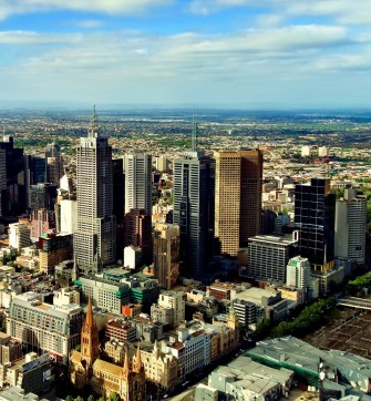 Global cities like Melbourne and Sydney are concentrating wealth in the city centre and exclusive suburbs. from www.shutterstock.com