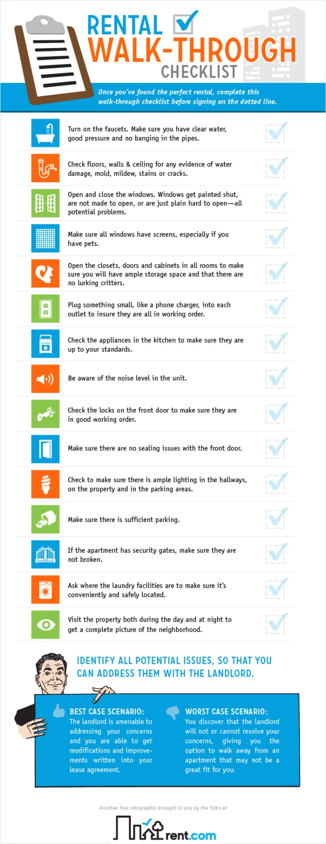 An Apartment Tour Take This Checklist