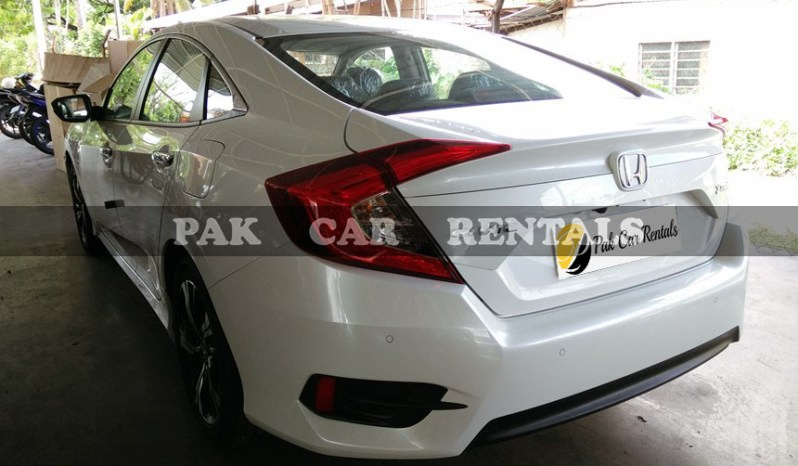 Rent Honda Civic VTI 2018 full