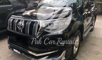 Rent Land Cruiser Prado 2019 Face Lift full