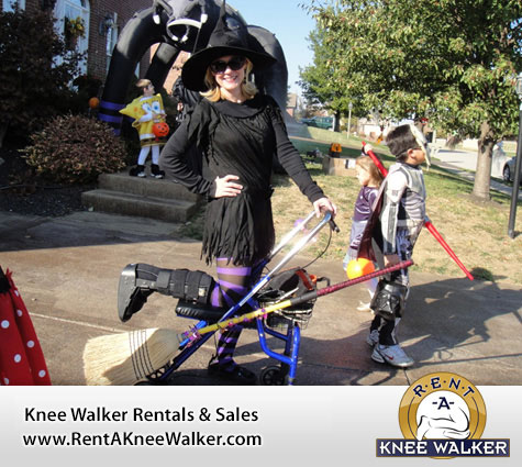 Halloween Costume Ideas While Using your Knee Walker