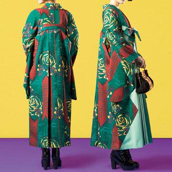 👑第1位【卒業袴】オシャレさんには個性派スタイル☆ばらとやばね J-ROSSO