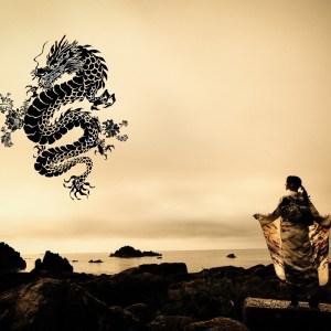 日本海に現れる竜とわたし