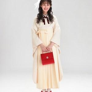 【卒業袴】心ときめく存在感☆レース/アイボリー